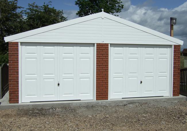 New Garages Hanson Refurbishments, How Much Does A Prefab Garage Cost Uk